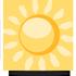 Jasno nebo skoro jasno. Maxim�ln� denn� teploty 28/32 �C. M�rn� v�chodn� a� jihov�chodn� v�tr.