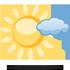 Dopoledne jasno, odpoledne polojasno. Odpoledne v centru �zem� m�sty p�eh��ky, jinde jen ojedin�le. Maxim�ln� denn� teploty 19/22 �C. M�rn� ji�n� v�tr.