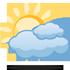 Zpo��tku n�zk� obla�nost, pozd�ji obla�no. Na n�kter�ch m�stech se n�zk� obla�nost udr�� po cel� den. Maxim�ln� denn� teploty 4/7 �C. M�rn� jihov�chodn� v�tr.