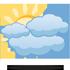 V�t�inou zata�eno n�zkou inverzn� obla�nost�. Ojedin�le jej� protrh�n� na polojasno, m�sty mlhy �i mrholen�. Maxim�ln� denn� teploty 1/5 �C. M�rn� jihov�chodn� v�tr.